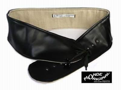ceinture large en cuir pour femme ceinture large nouee. Black Bedroom Furniture Sets. Home Design Ideas